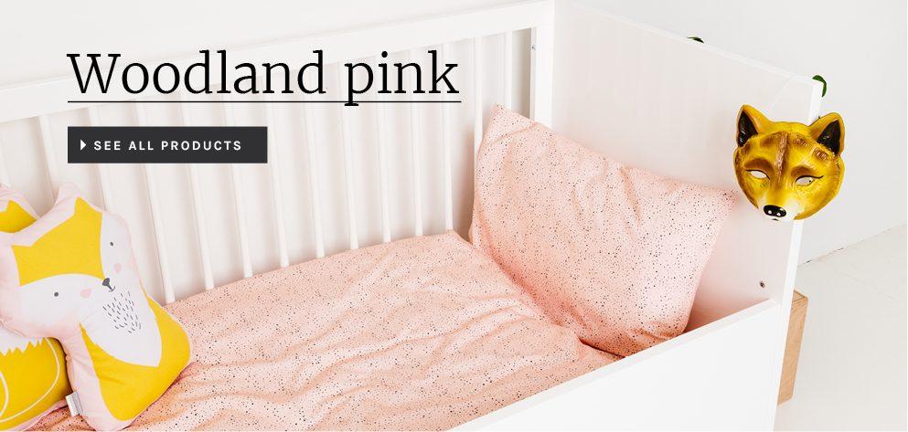 Plum Plum collectie woodland pink