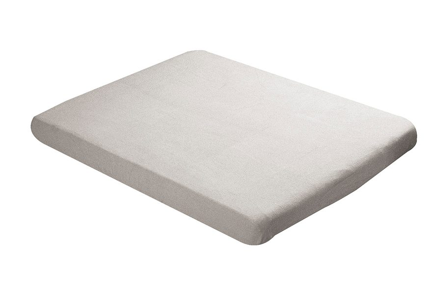 Fitted sheet 60x120cm ecru