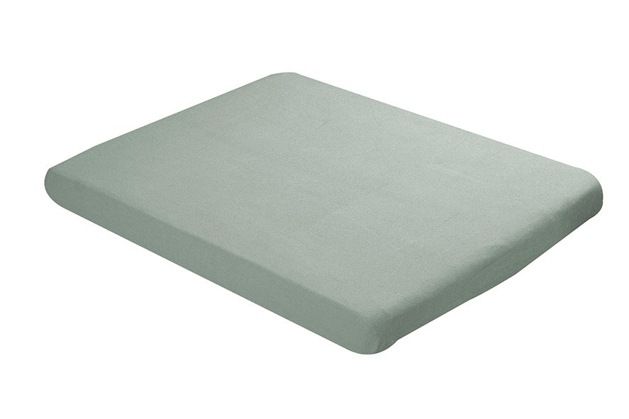 Fitted sheet 75x95cm old green
