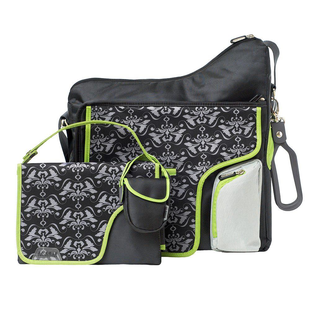 Nursery bag System180 Black damask