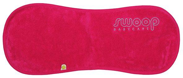 Burp cloth pink
