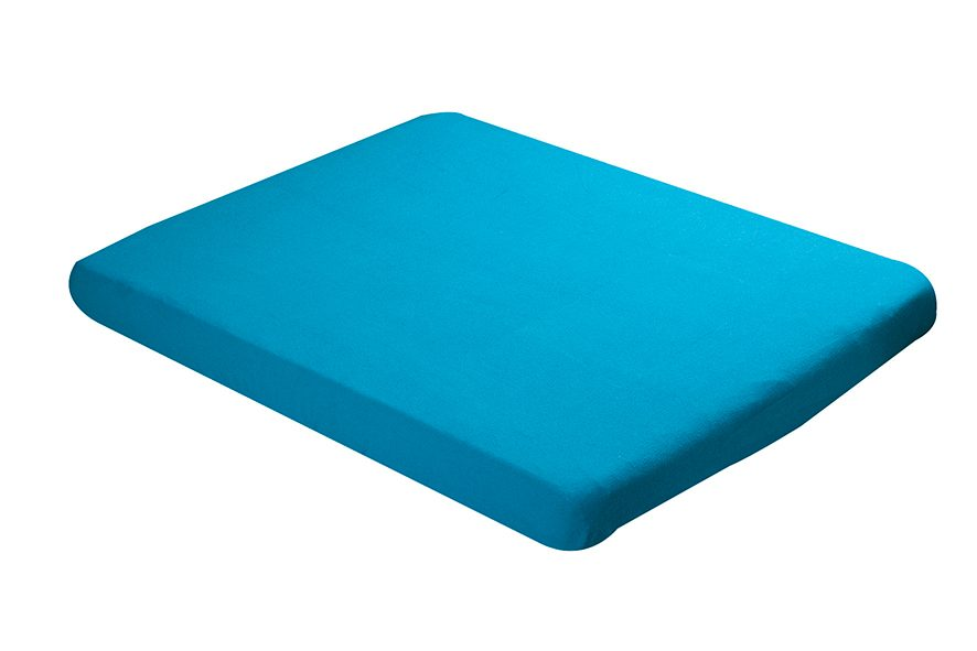 Fitted sheet 60x120cm turquoise