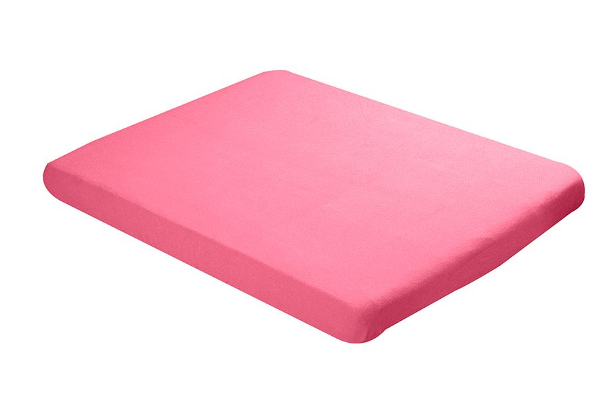 Fitted sheet 75x95cm pink