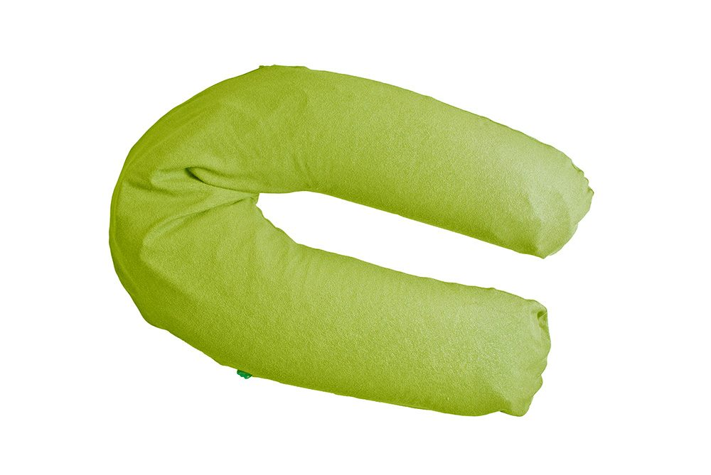 Cover breastfeeding pillow lime