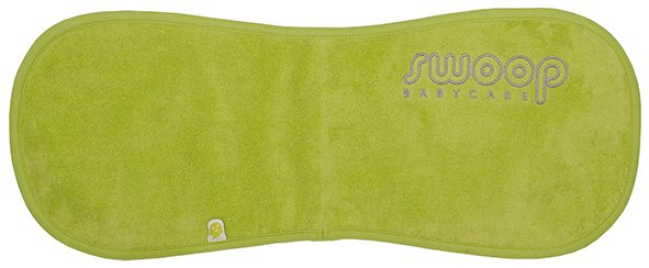 Burp cloth lime