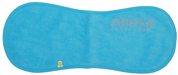 Burp cloth aqua