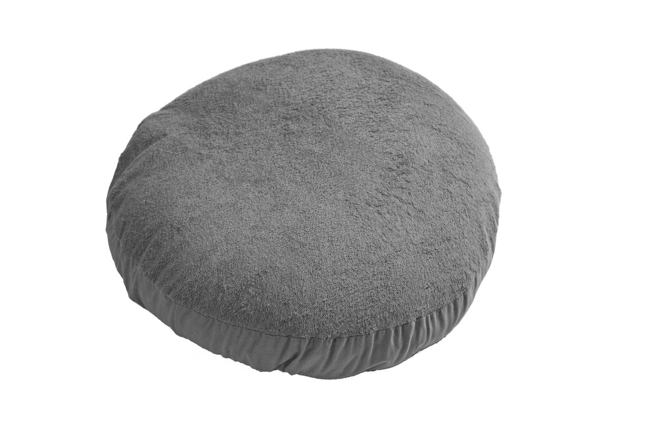 Cover pouf antracite