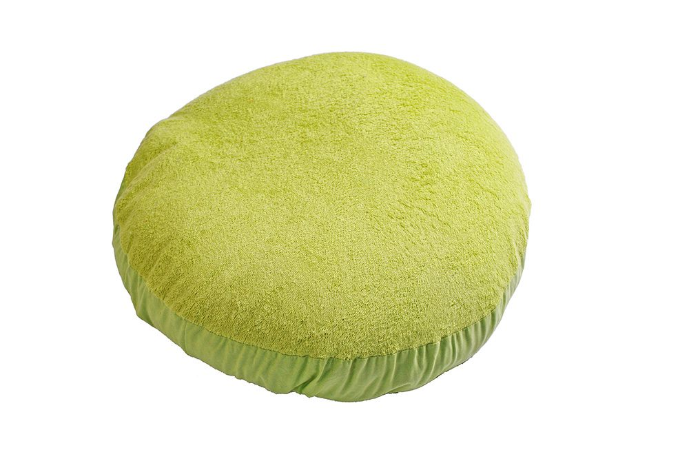 Cover pouf lime