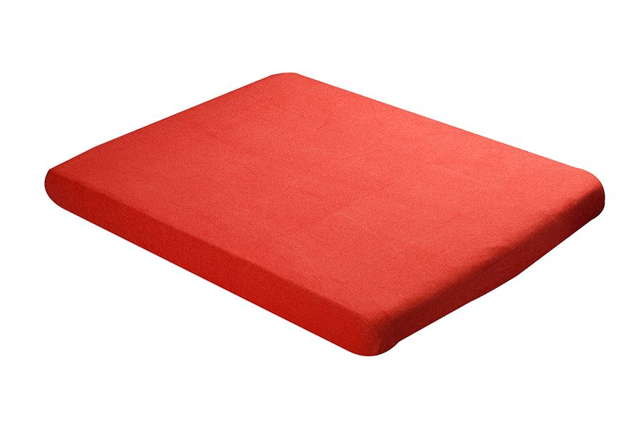 Fitted sheet 60x120cm red