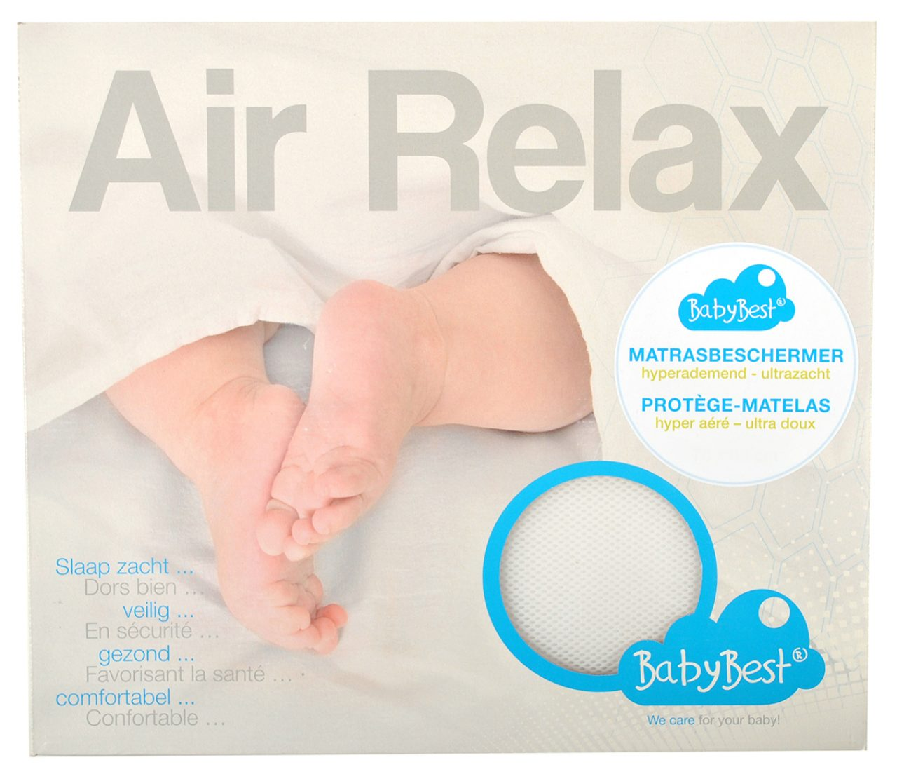 Mattress protector Air Relax 60x120cm