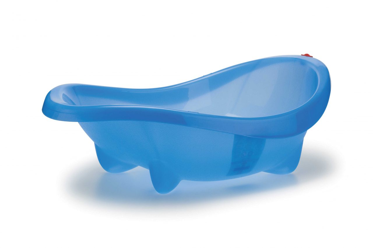 Baby bath Laguna Blue transparent