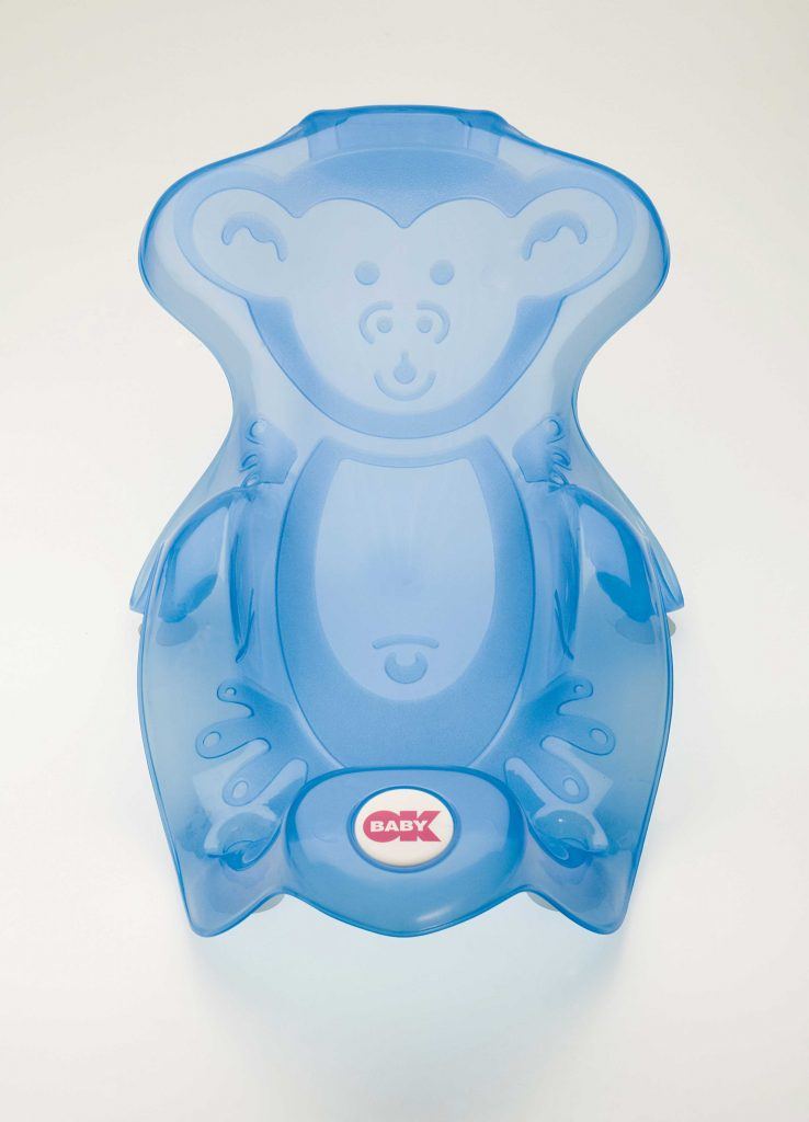 Bath support Monkey Blue