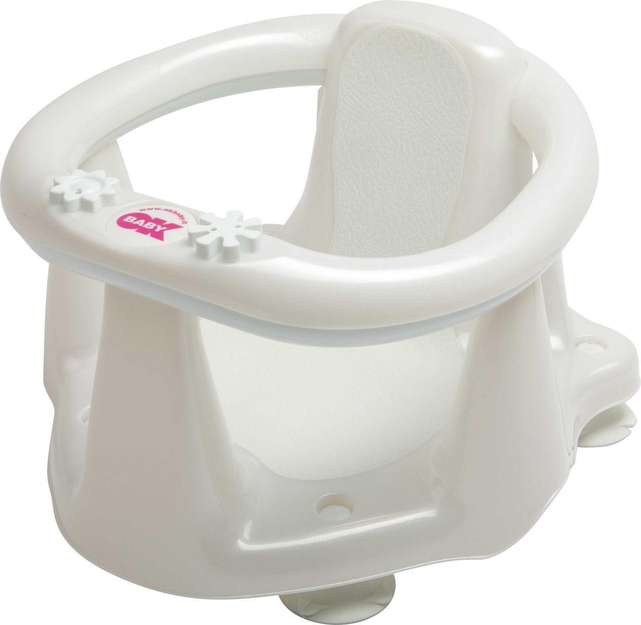 Bath ring Flipper Evolution Pearl white