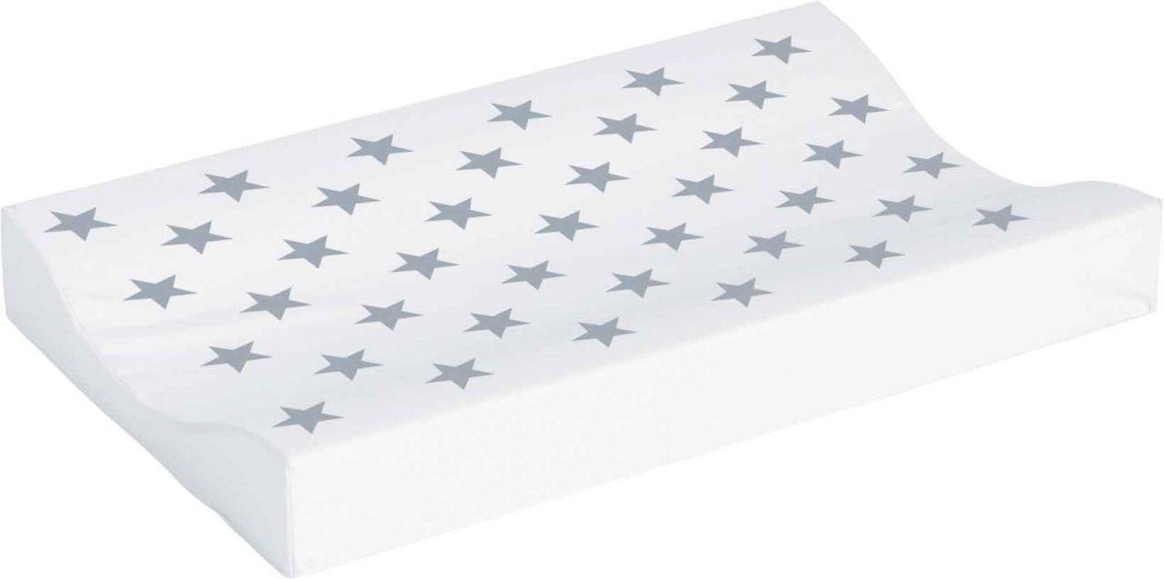 Changing pad 72x44cm Silver Stars
