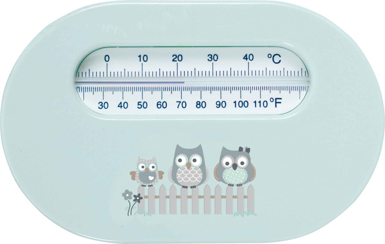 Room thermometer Owl Family