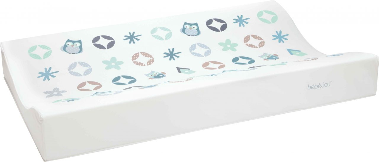 Changing pad 72x44cm Owl Family
