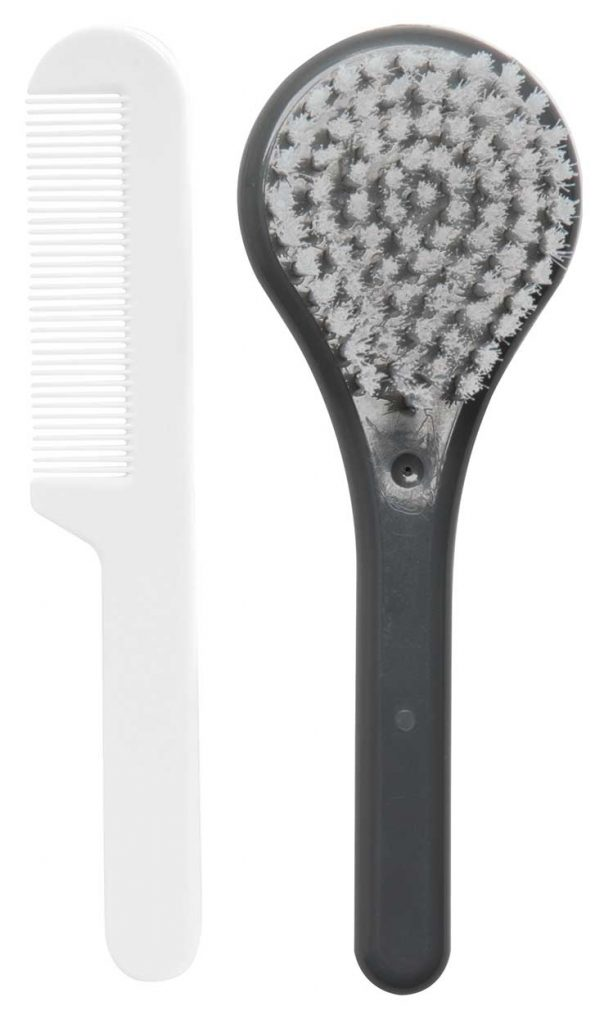 Brush and comb Dark Grey