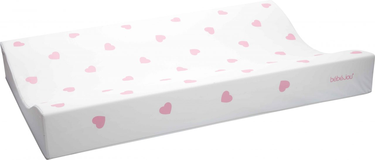Changing pad 72x44cm Little Hearts