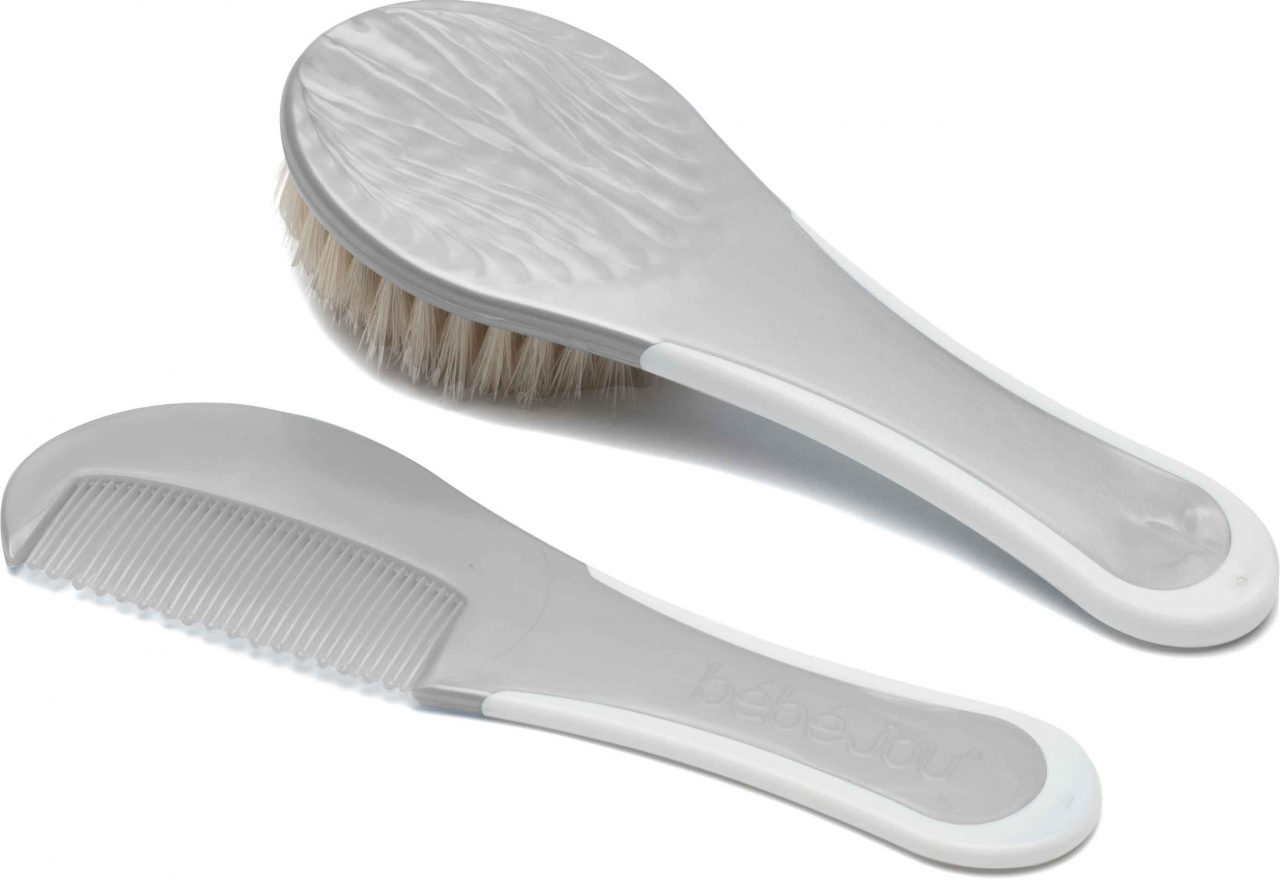 Brush and comb Silver
