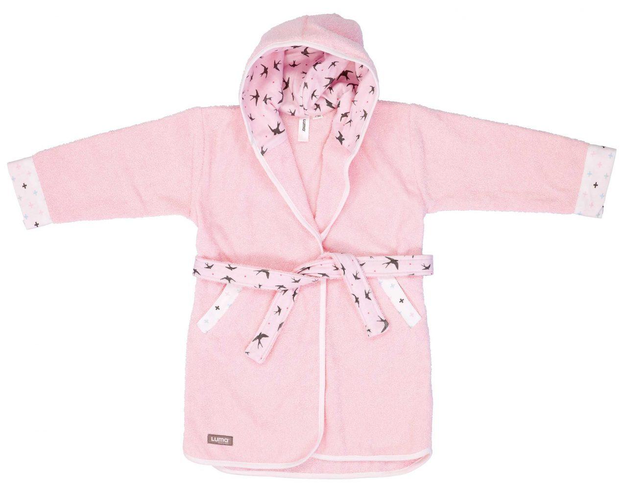 Bathrobe Pretty Pink