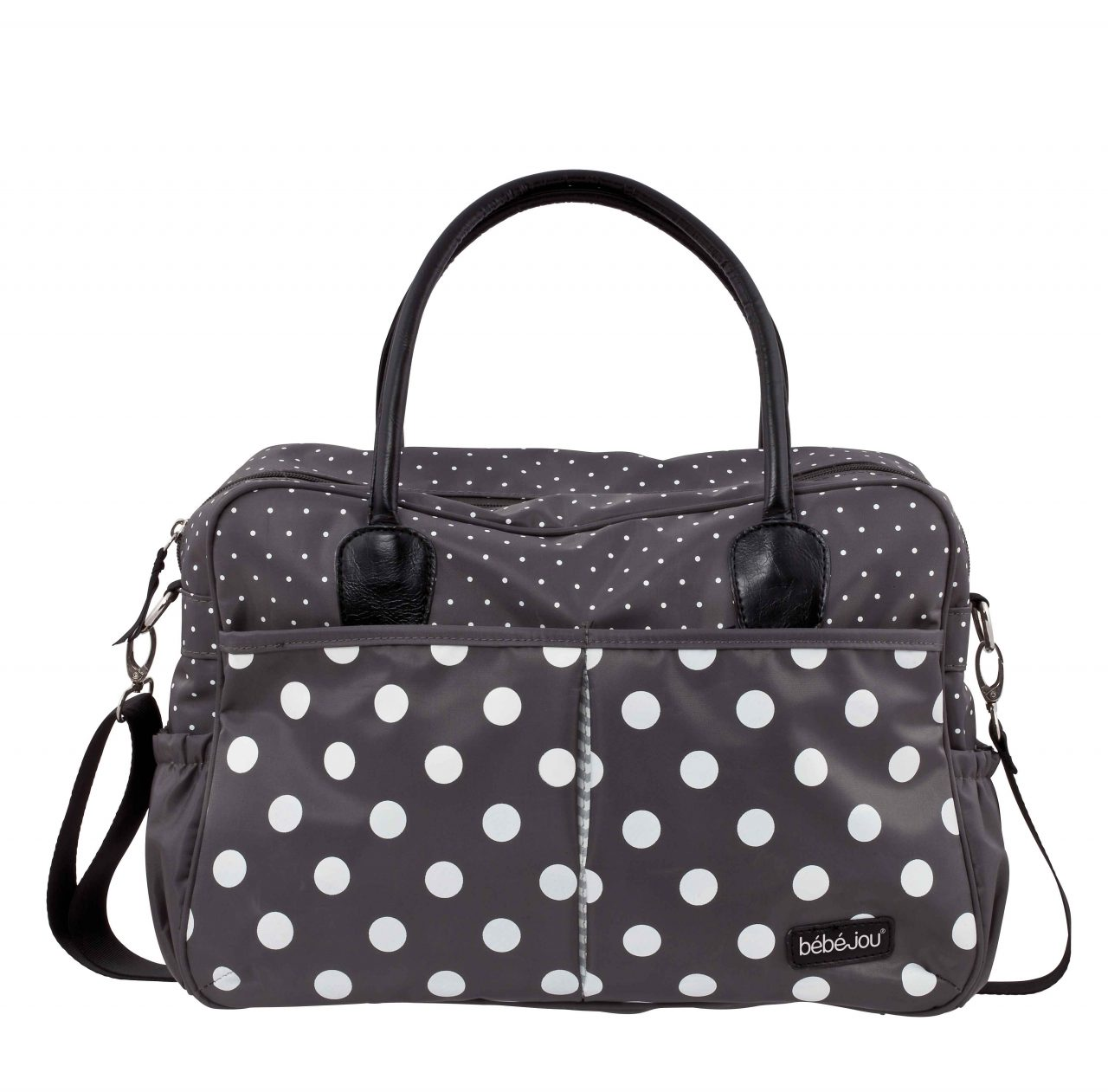 Diaper bag Grey Dots