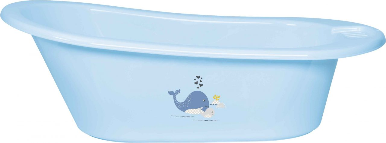 Baby bath Click Wally Whale