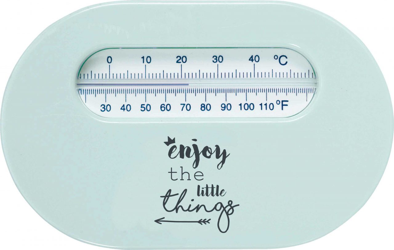 Room thermometer Lucky Quotes Mint