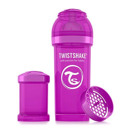Baby bottle 260ml Purple