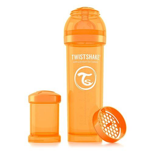 Baby bottle 330ml Orange