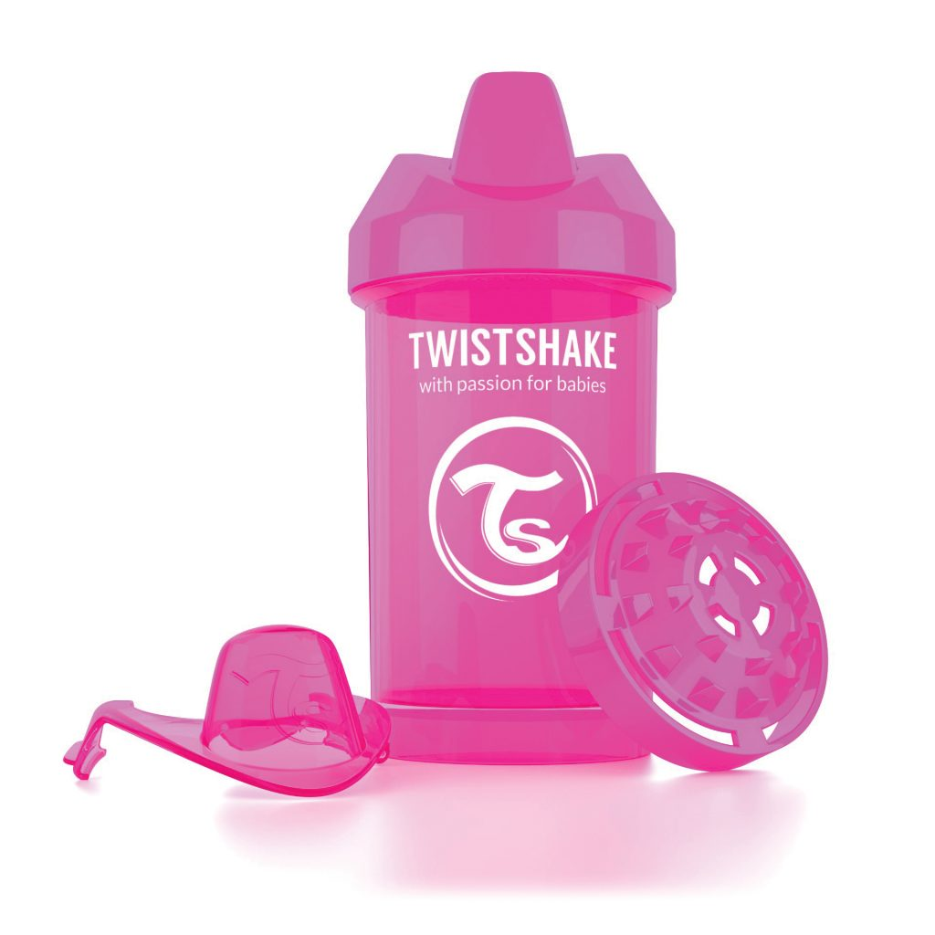 Crawler Cup 300ml Pink
