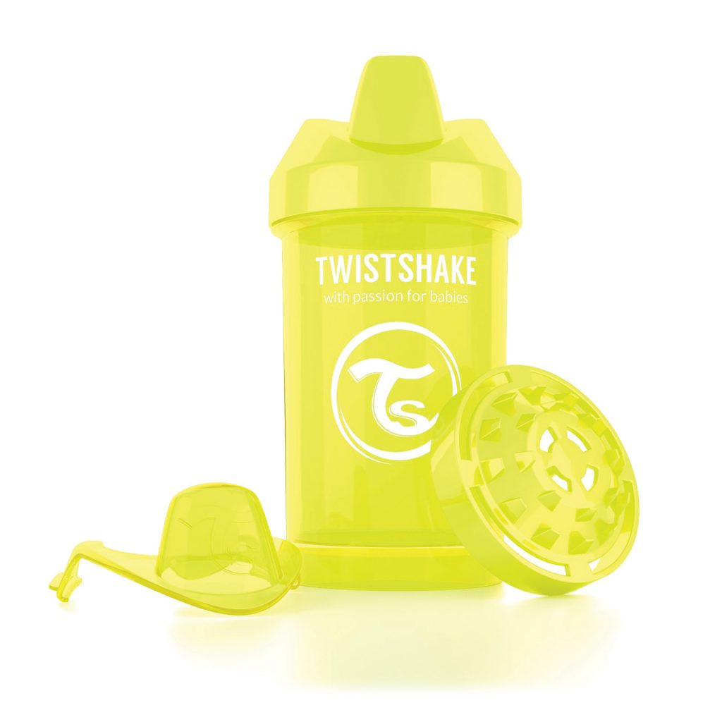 Crawler Cup 300ml Yellow
