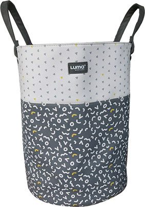 Toy basket M Memphis Grey