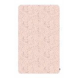 Fitted sheet 60x120cm jersey WOODLAND PINK