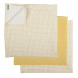Tetra cloths YELLOW METRICS