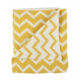 Blanket crib YELLOW METRICS