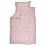 Cot duvet cover PINK GNOME