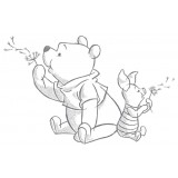 Wall sticker WISHING POOH