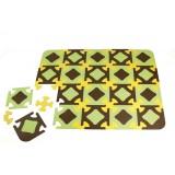 Play mat Brown/yellow