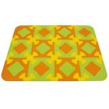 Play mat Orange/yellow