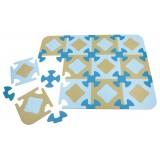 Play mat Grey/blue