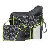 Nursery bag System180 Black damask