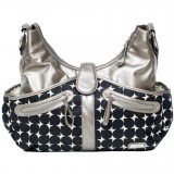 Nursery bag Swag bag Silver drop
