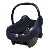 Car seat cover blue