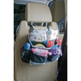 Back seat storage organiser