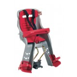 Bike seat Orion grey/red