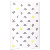 Changing pad 72x44cm Stars Silver/Lime