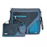 Nursery bag Metra blue diamond