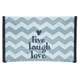Diaper holder Chevron Grey