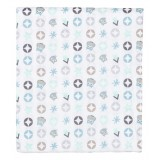 Cot sheet OWL FAMILY