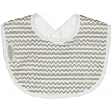Bib Newborn jersey grey chevron